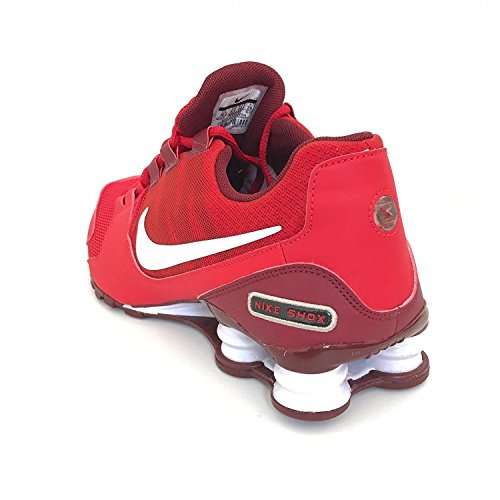 Nike Heren Shox Avenue Prm Universiteit Rood / Wit / -team Rode Loopschoenen Universiteit Rood / Wit / -team Rood