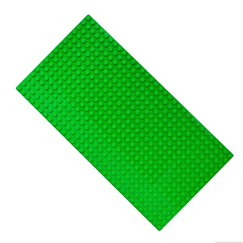 Large Particles Block Bottom Base Plate Board DIY Building Blocks Baseplate Toys Children Compatible Kids Gift 16x32 -