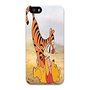 Iphone 5 Case,Hard PC Iphone 5 Protective Case for Ultimate Protect iphone 5 5s with Classic Winnie the Pooh Card Featuring Piglet by mcsharksby Maris's Diary