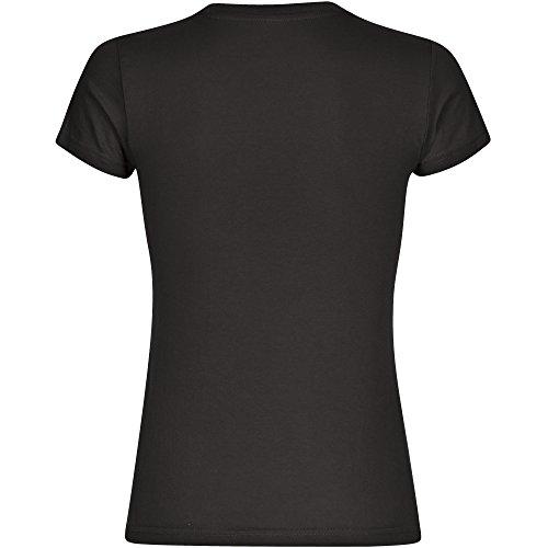 T-Shirt Modern I Love Knappen schwarz Damen Gr. S bis 2XL