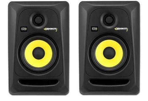 KRK RP5G3- 59107 NA Rokit 5 Generation 3 Powered Studio Monitor - (Best Powered Monitors)
