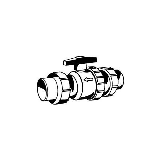 (Little Giant 599161, CVBV-2U Sewage Pump Check/Ball Valve for 2