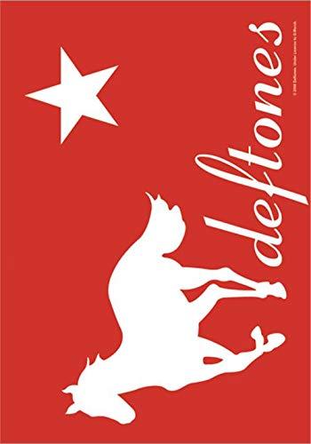 - Deftones White Pony new Official Textile Poster 75cm x 110cm