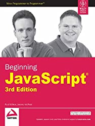 Beginning JavaScript, 3ed