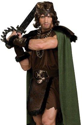 Barbarian Adult Costume - Adult (Conan The Barbarian Halloween Costume)