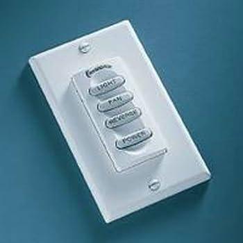 Inteli Touch Iii Wall Control For Downlight Fan Ceiling Fan Wall Controls Amazon Com