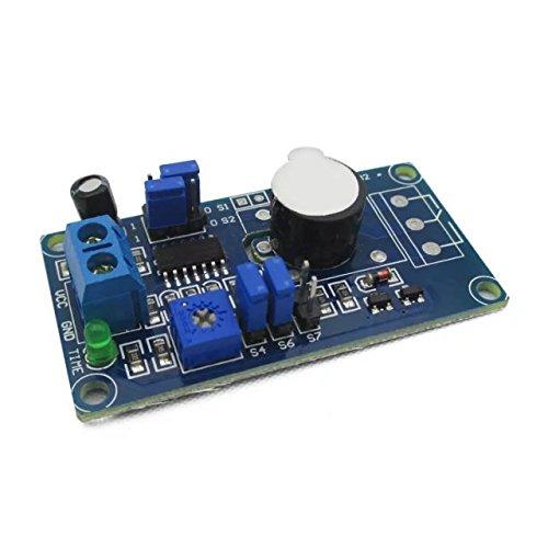 Goliton 5V Power Through Delay Alarm Buzzer Module is Better Than 555 chip POW.W51.FMX.018.XBL