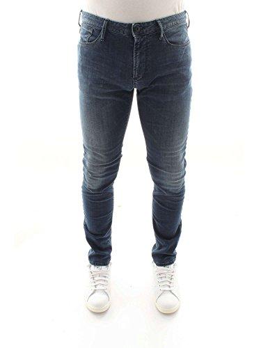 Armani Emporio Denim Blu Pantalones 3Z1J06 vaqueros Hombre Md r1PCxrwq