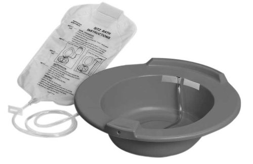 Medline DYND80102 DYND80102H Baths Graphite