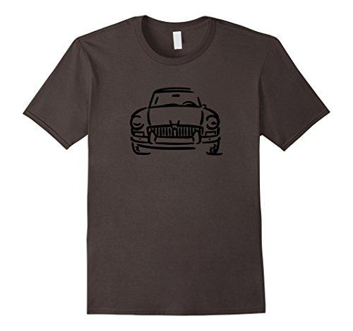 Mens MGB GT MG British Car Lover T-shirt Large Asphalt