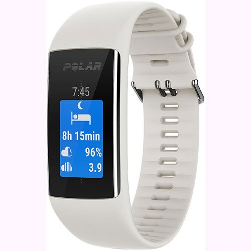 Polar A370 Waterproof GPS Fitness Tracker with Wrist Based HR - White / Small w/ Cinch Travel Bag by Polar (Image #4)