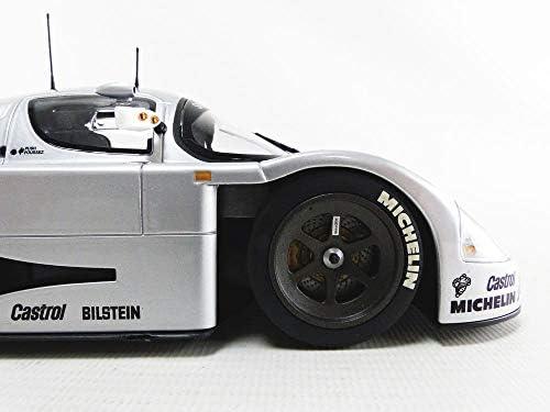 MiniChamps 155893562 miniatuur speelgoedauto, zilverkleurig