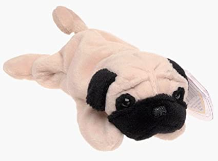 Amazon.com  TY Beanie Babies - Pugsly the Pug Dog by TY Beanie ... a15186540a9