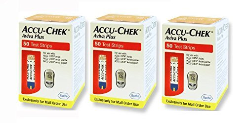 Accu-chek Aviva Plus Mail Order Test Strips 3 Pack