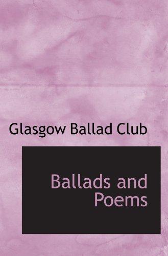 Ballads and Poems pdf epub