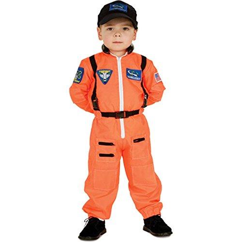 Orange Astronaut Suit Toddler Costume