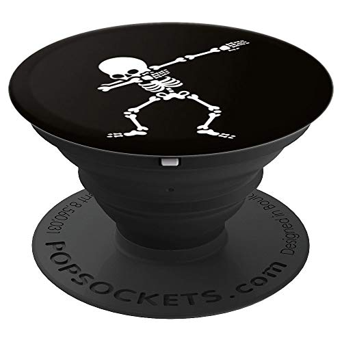 Dab dabbing skeleton halloween hip hop kids gift idea - PopSockets Grip and Stand for Phones and -
