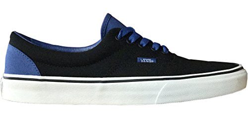 Vans Heren Tijdperk (pop) Skateboarden Schoenen Zwart / Blauw