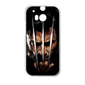 Classic Case The Wolverine pattern design For HTC ONE M8 Phone Case