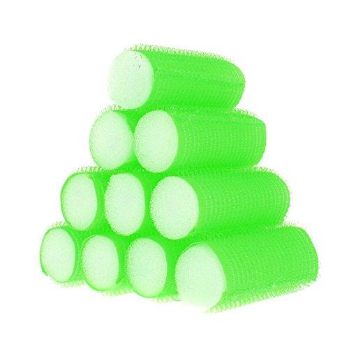 Anself 10Pcs Sleep In Velcro Cling Roller Sponge Foam Hair Tools Design