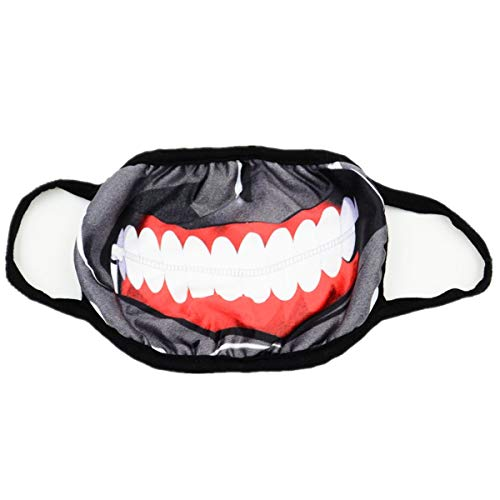 MIUNIKO Unisex Cute Cartoon Anime Tokyo Ghoul Kaneki Ken Mask Outdoor Cosplay Halloween Accessories (Without -