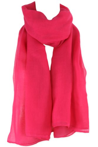 Pink Large Rectangular Shawl