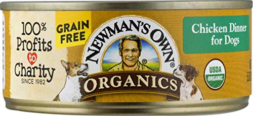 Newman'S Own Organics Chicken Dinner For Dogs, 5.5-Oz. (Pack Of 24)
