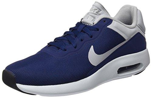 Nike 844874, Scarpe da Ginnastica Basse Uomo Multicolore (Marino / Gris)