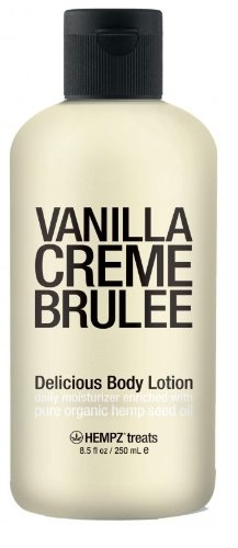 Supre Hempz Treats Vanilla Creme Brulee Body Lotion 8.5oz