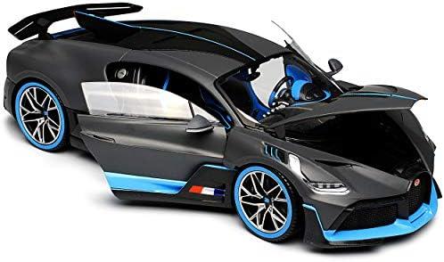 Bugatti Chiron Divo Coupe Grau Version Ab 2018 1/18 Bburago Modell Auto