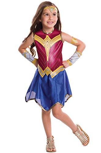 Rubie's Costume Batman v Superman: Dawn of Justice Wonder Woman Tween Value Costume, Medium