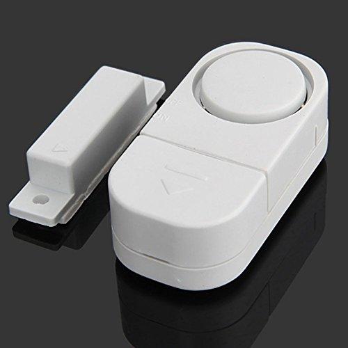 Alarma de seguridad para puerta de ventana inalámbrica, sistema de alarma de seguridad para puerta de casa con sensor...