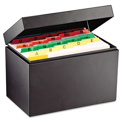 Index Card File Holds 900 5 x 8 cards 89/16 x 53/16 x 57/8 by STEELMASTER