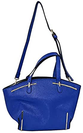 Reflex Tote Bag for Women - Faux Leather, Blue