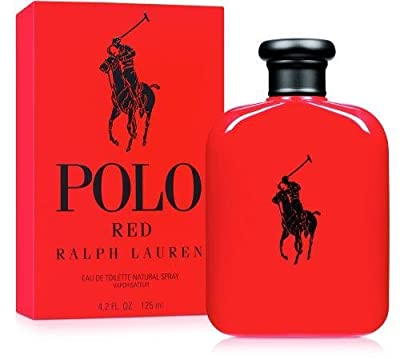 Ralph Lauren Polo Red for Men 2 Piece Set (2.5 EDT Spray/1.0 EDT TRAVEL Spray)