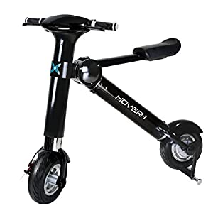Hover-1 HY-HBKE XLS Folding Electric Bike - Eco Friendly Portable Electric Scooter with up to 22 Mile Range - Compact E-Bike with High Performance Brush-less Motor capable of up to 20 MPH Top Speed
