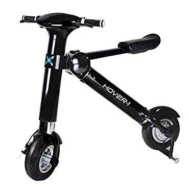 Hover-1 XLS Folding Electric Bike Eco Friendly Portable Electric Scooter with up to 22 Mile Range Compact E-Bike with High Performance Brush-less Motor capable of up to 20 MPH Top Speed