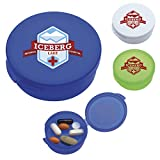 Good Value Uno Pill Box Translucent Blue 2500 Pack