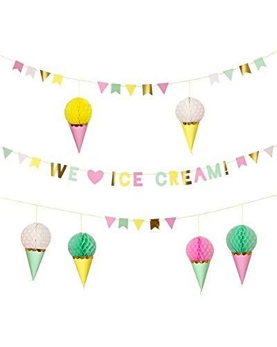Luck and Luck Meri Meri Ice Cream (Ice Cream Scoop Pastel)