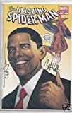 Barack Obama Amazing Spider-Man #583 Yellow Cover Variant Second Printing