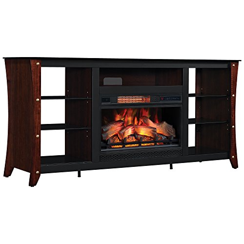 Classic Flame 26MM9689-NC72 Marlin Media Fireplace Mantel, 26-Inch (FIREPLACE NOT INCLUDED, MANTEL ONLY) ()