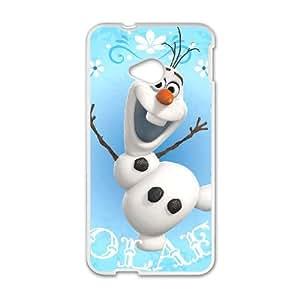 Olaf 002 HTC One M7 Cell Phone Case White TPU Phone Case RV_540698