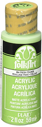 FolkArt Acrylic Paint in Assorted Colors (2 oz), 954, Fresh -