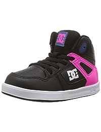 DC Children (youths) Rebound Ul Pink Black Shoes Size