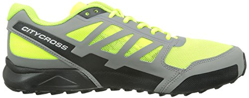 fluoyellow Aero Cross pewter Men Salomon black City 8gSWq1nTI