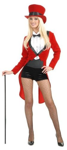 Adult Circus Sweetie Ringmaster Costume - Large