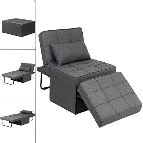 Convertible Sofa Bed Folding Ottoman 4