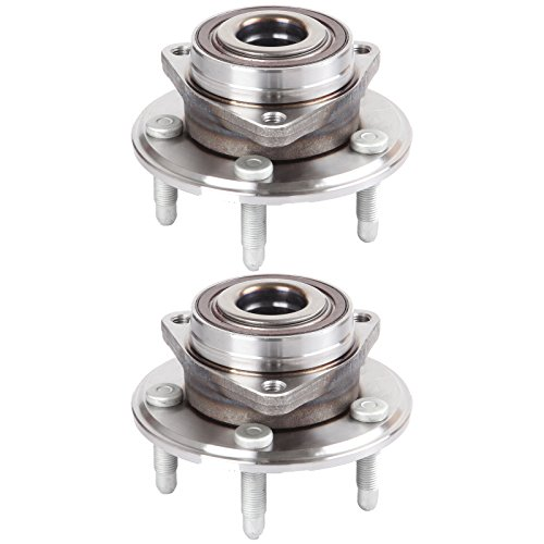 - ECCPP Replacement for Wheel Bearing and Hub Assembly for Cadillac CTS 2008-2015 Chevrolet Camaro 2010-2014 Wheel Hubs 5 Lugs W/ABS 513282x2