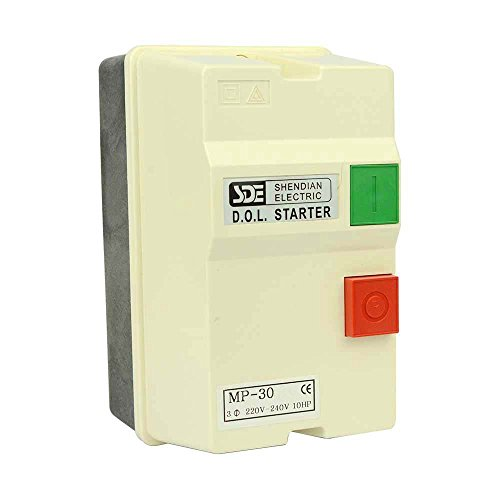 Big Horn 18839 3-Phase, 220-240-Volt, 10-HP, 22-34-Amp Magnetic Switch - UL Approved ()