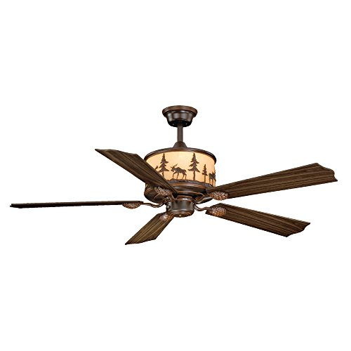 Black Forest Decor Timberland Ceiling Fan